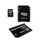 Komputerbay 32GB MicroSD SDHC Microsdhc Class 4 with Micro SD Adapter and Pro Duo Adapter