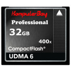 KOMPUTERBAY 32GB Professional COMPACT FLASH CARD CF 400X WRITE 30MB/s READ 60MB/s Extreme Speed UDMA 6 RAW 32 GB