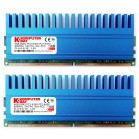 Komputerbay 8GB (2 X 4GB) DDR2 DIMM (240 pin) 800MHZ PC2-6400 PC2-6300 8 GB KIT with Crown Series Heatspreaders for extra Cooling CL 5-5-5-12