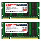 Komputerbay MACMEMORY 2GB (2x 1GB) DDR2 800MHz PC2-6300 PC2-6400 (200 Pin) SODIMM for Apple Mac
