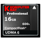 KOMPUTERBAY 16GB Professional COMPACT FLASH CARD CF 600X 90MB/s Extreme Speed UDMA 6 RAW 16 GB