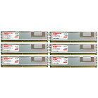 Komputerbay 12GB (6X2GB) 667MHz PC2-5300 DDR2 ECC REGISTERED Fully Buffered Memory Module