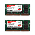 Komputerbay 8GB (2x 4GB) DDR3 SODIMM (204 pin) made with Hynix semiconductors 1066Mhz PC3 8500 for Apple 8 GB (7-7-7-20)