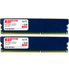 Komputerbay 8GB (2 X 4GB) DDR3 DIMM (240 pin) 1333Mhz PC3 10600 / PC3 10666 (9-9-9-25) 8 GB KIT with Heatspreader for extra Cooling