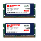 Komputerbay 8GB (2x 4GB) DDR3 SODIMM (204 pin) made with Hynix semiconductors 1333Mhz PC3 10600 8 GB with SODIMM Heatsink for extra cooling (8-8-8-24)